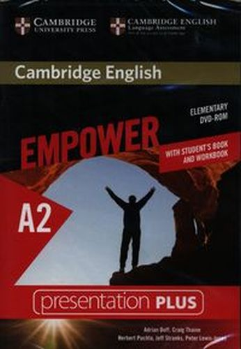 CAMBRIDGE ENGLISH EMPOWER ELEMENTARY PRESENTATION PLUS (WITH STUDENT'S BOOK AND WORKBOOK) - Thaine Craig