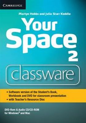 YOUR SPACE LEVEL 2 CLASSWARE DVD-ROM WITH TEACHER'S RESOURCE DISC - Julia Starr Keddle
