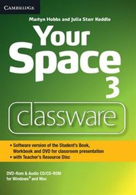 YOUR SPACE LEVEL 3 CLASSWARE DVD-ROM WITH TEACHER'S RESOURCE DISC - Julia Starr Keddle