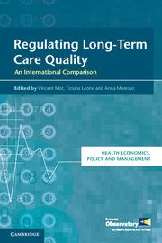 REGULATING LONGTERM CARE QUALITY - Mor Vincent
