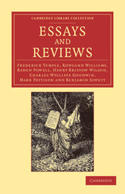 ESSAYS AND REVIEWS - Temple Frederick