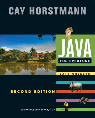 JAVA FOR EVERYONE - S. Horstmann Cay