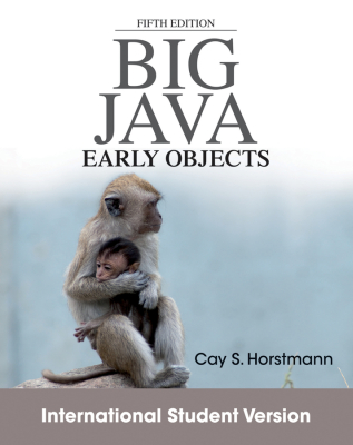 BIG JAVA - S. Horstmann Cay