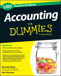 1001 ACCOUNTING PRACTICE PROBLEMS FOR DUMMIES - Boyd Kenneth