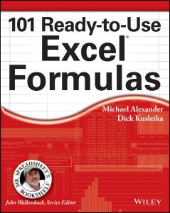101 READY–:TO–:USE EXCEL FORMULAS - Alexander Michael