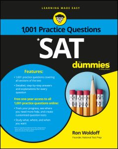 1,001 SAT PRACTICE QUESTIONS FOR DUMMIES - Woldoff Ron