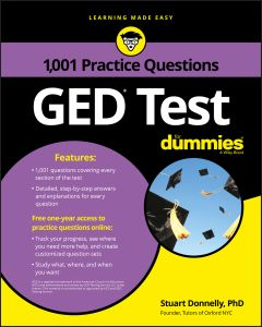 1,001 GED PRACTICE QUESTIONS FOR DUMMIES - Donnelly Stuart
