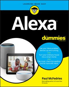 ALEXA FOR DUMMIES - Mcfedries Paul