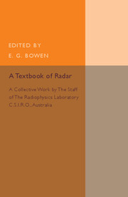 A TEXTBOOK OF RADAR - G. Bowen E.