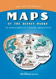 ART OF COLORING: MAPS OF THE DISNEY PARKS