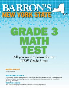 NEW YORK STATE GRADE 3 MATH TEST - Masters Margery