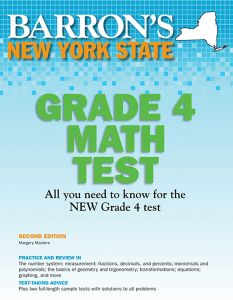 NEW YORK STATE GRADE 4 MATH TEST - Masters Margery
