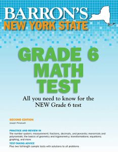 NEW YORK STATE GRADE 6 MATH TEST - Prinzevalli Joseph