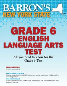NEW YORK STATE GRADE 6 ENGLISH LANGUAGE ARTS TEST - Lassonde Cynthia