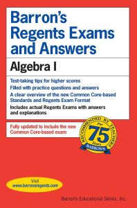 REGENTS EXAMS AND ANSWERS: ALGEBRA I - M. Rubinstein Gary