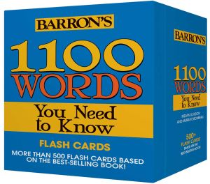 1100 WORDS YOU NEED TO KNOW FLASHCARDS - Gordon Melvin