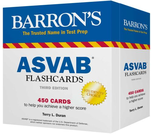 BARRON'S ASVAB FLASHCARDS - L. Duran Terry