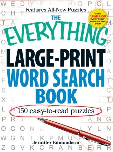 THE EVERYTHING LARGEPRINT WORD SEARCH BOOK - Edmondson Jennifer