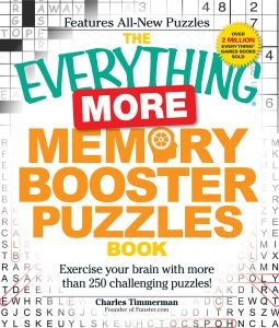 THE EVERYTHING MORE MEMORY BOOSTER PUZZLES BOOK - Timmerman Charles