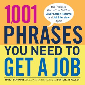1,001 PHRASES YOU NEED TO GET A JOB - Schuman Nancy