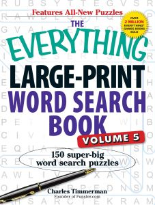 THE EVERYTHING LARGE-PRINT WORD SEARCH BOOK, VOLUME V - Timmerman Charles