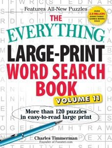 THE EVERYTHING LARGE-PRINT WORD SEARCH BOOK, VOLUME 11 - Timmerman Charles