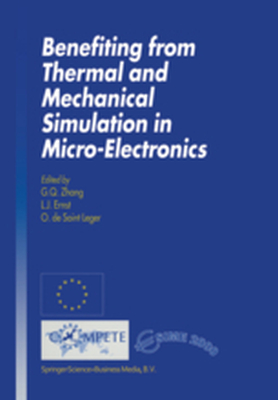 BENEFITING FROM THERMAL AND MECHANICAL SIMULATION IN MICRO-ELECTRONICS -  Zhang