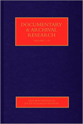 DOCUMENTARY & ARCHIVAL RESEARCH - Hughes Jason