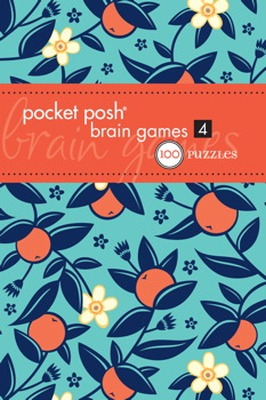 POCKET POSH BRAIN GAMES 4 - Puzzle Society The