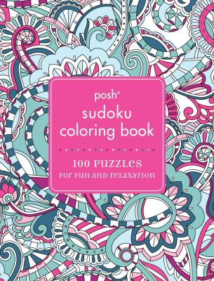 POSH SUDOKU ADULT COLORING BOOK - Mcmeel Publishing Andrews