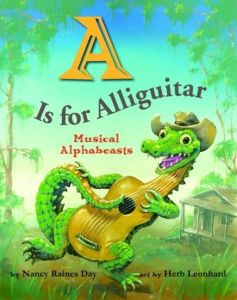 A IS FOR ALLIGUITAR - Day Nancy