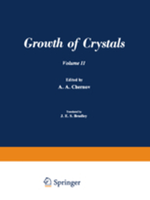 Ż Ż / ROST KRISTALLOV / GROWTH OF CRYSTALS - A. A. Chernov