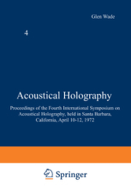 ACOUSTICAL HOLOGRAPHY -  Wade