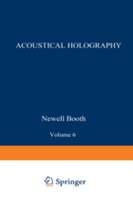 ACOUSTICAL HOLOGRAPHY -  Booth