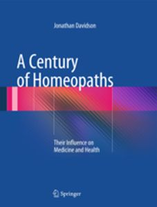 A CENTURY OF HOMEOPATHS -  Davidson