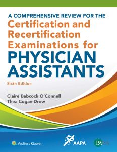 A COMPREHENSIVE REVIEW FOR THE CERTIFICATION AND RECERTIFICATION EXAMINATIONS FO - Oconnell Claire