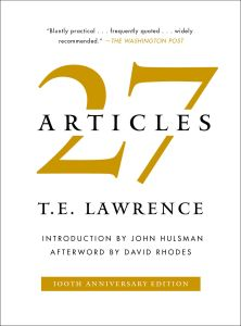 27 ARTICLES - E. Lawrence T.