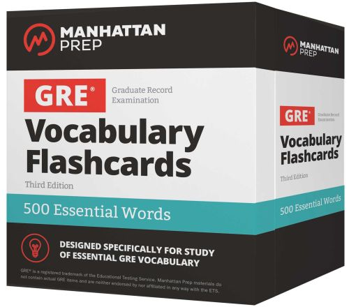 500 ESSENTIAL WORDS: GRE VOCABULARY FLASHCARDS