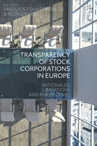 TRANSPARENCY OF STOCK CORPORATIONS IN EUROPE - Tountopoulos,rü Vassilios