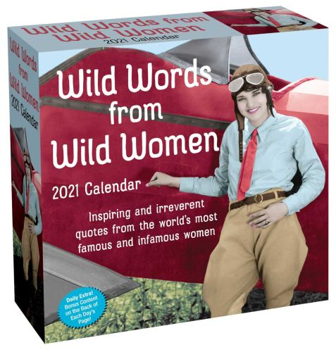 WILD WORDS FROM WILD WOMEN 2021 DAY-TO-DAY CALENDAR - Stephens Autumn