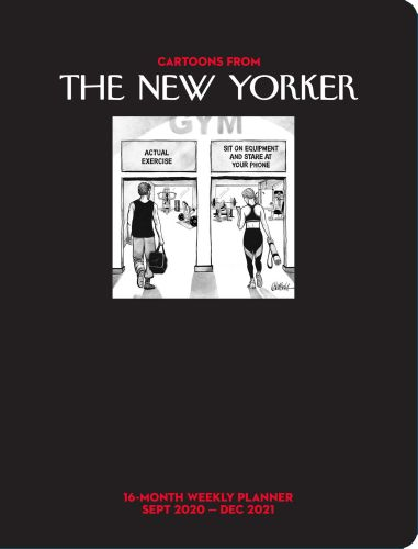 CARTOONS FROM THE NEW YORKER 16-MONTH 2020-2021 WEEKLY PLANNER CALENDAR - Nast Conde