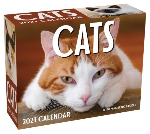 CATS 2021 MINI DAY-TO-DAY CALENDAR - Mcmeel Publishing Andrews