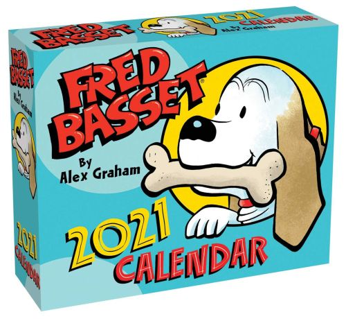 FRED BASSET 2021 DAY-TO-DAY CALENDAR - Graham Alex