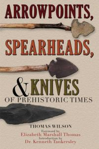 ARROWPOINTS, SPEARHEADS, AND KNIVES OF PREHISTORIC TIMES - Wilson Thomas