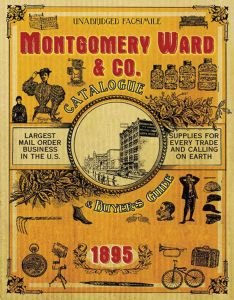 MONTGOMERY WARD & CO. CATALOGUE AND BUYERS' GUIDE 1895 - Lyons Nick