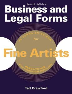 BUSINESS AND LEGAL FORMS FOR FINE ARTISTS - Crawford Tad