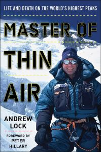 MASTER OF THIN AIR - Lock Andrew