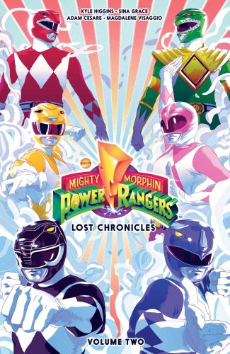 MIGHTY MORPHIN POWER RANGERS: LOST CHRONICLES VOL. 2 - Higgins Kyle