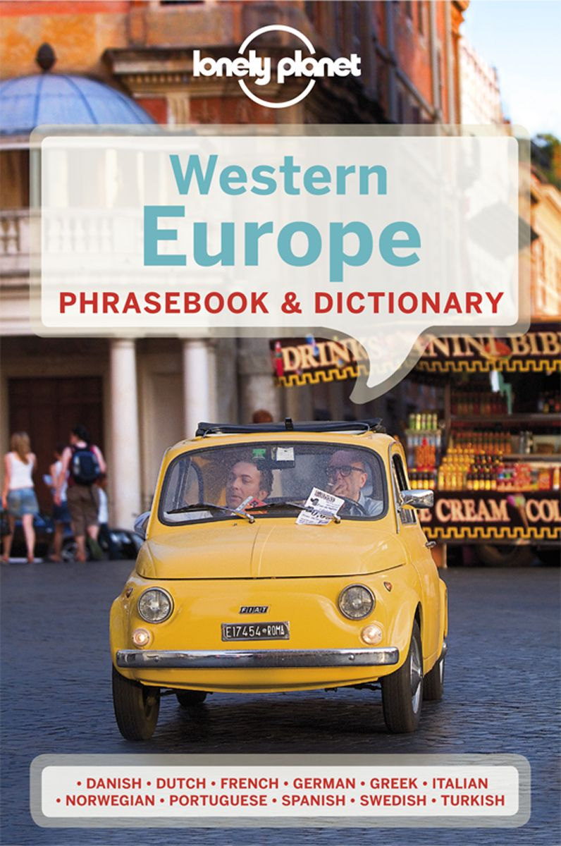 LONELY PLANET WESTERN EUROPE PHRASEBOOK & DICTIONARY - Coates , Lonely , Karina , Janes , Michael , Koch