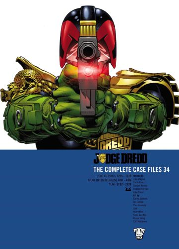 JUDGE DREDD CASE FILES 34 - Wagner Ennis